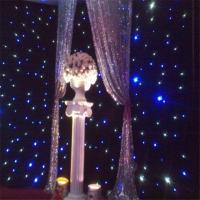 Buy cheap High Quality Led Star Cloth diy fiber optic lighting curtain star light cloth from wholesalers