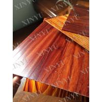Buy cheap Wood grain transfer Aluminium Window Profiles for decoration material from wholesalers