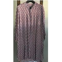 Buy cheap Long Sleeve and Shirt Collar Ladies' Printed Dresses for Spring and Autumn from wholesalers