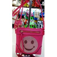 Buy cheap Rhinestone Girls' Should Bags With Smiling Face In South American from wholesalers