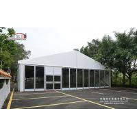 Buy cheap luxury glass panel 10×20m Reception Catering Tent for Party and Wedding in outdoor from wholesalers