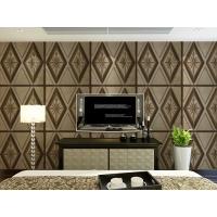 Buy cheap Leather Home Accessories Home Decor Wallpapers 3D Effect Sofa Wall Backdrop Panel product
