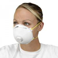 Buy cheap Non Woven Activated Carbon Respirator N95 , Carbon Filter Dust Mask With Valve from wholesalers
