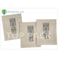 Buy cheap Moisture Proof Foil Printed Laminated Bags , Kraft Paper Food Bags Tea Packing product