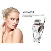 Buy cheap Vascular 808 Laser Hair Removal Device , Medical Laser Hair Removal Machines from wholesalers