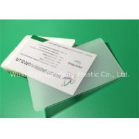 Buy cheap 60x90mm 65x95mm 60x95mm Hot Laminating Pouches For Name Cards Business Cards from wholesalers
