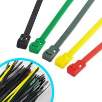 Buy cheap Multi Colored Commercial Electric Cable Ties , Weather Resistant Nylon Wire Ties from wholesalers