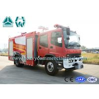 Buy cheap Remote Control Long Range Fire Fighting Truck Isuzu Constant Pressure from wholesalers