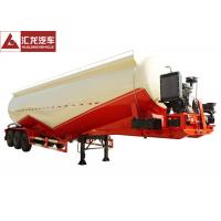 Buy cheap Large Capacity Dry Bulk Trailer 3 Ton Heavy Load Double V Shape Environmentally Friendly from wholesalers
