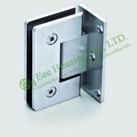 Buy cheap High Quality 90 degree Stainless Steel shower clamp,shower hinge,glass clamp,Satin finish from wholesalers