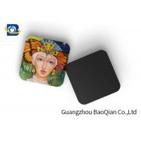 Buy cheap Square Wine Tea Cup Custom Printed Coasters 3D Lenticular Printing Service from wholesalers