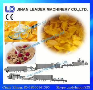 small scale corn flakes manufacturing machinery india making machine