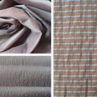 Buy cheap 20D Polyester/Nylon Pongee with White Line on Weft from wholesalers