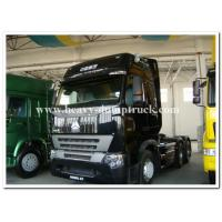 Buy cheap Sinotruk Howo A7 420HP Tractor Truck / Prime mover / Truck head for pulling Flatbed trailer from wholesalers