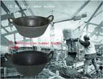 Buy cheap 11L Building Rubber Bucket ,Construction Rubber Bucket from wholesalers