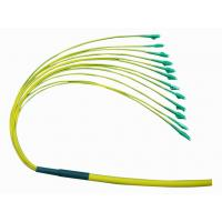 Buy cheap ST/UPC Bundle fiber optical pigtail 0.9mm from wholesalers