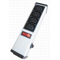 Buy cheap 4 Outlets PDU Power Strip and Switch with Circuit Breaker , Smart Multi Plug Extension Cord from wholesalers