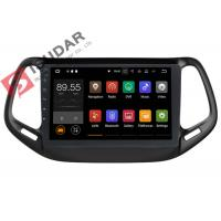 Buy cheap Dual Zone Jeep Compass Head Unit , Touch Screen Radio Navigation System product