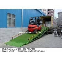 Buy cheap Mobile Hydraulic Dock Ramp,Trailer Ramp,Forklift Loadig Ramps,moveable dock ramp from wholesalers