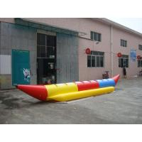 Buy cheap 6.9ml Inflatable Banana Boat Water Games With 8 Seats , Inflatable Water Games from wholesalers