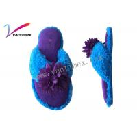 Buy cheap Vogue To Live Floor Warm open toe mule slippers / girls bedroom slippers from wholesalers