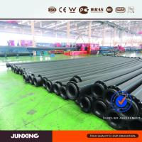 400mm sdr17 dredging hdpe pipe with flanges.jpg