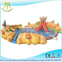 Buy cheap Hansel Inflatable Water Park For Pool Party, Inflatable Water Games For Rental Business from wholesalers