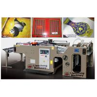 Buy cheap manual cylindrical screen printer for paper productions linear touch high precision imported parts inverter control PLC from wholesalers