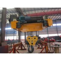 Buy cheap Medium Duty Electric Trolley Hoist With Non-Rotating Wire Rope from wholesalers