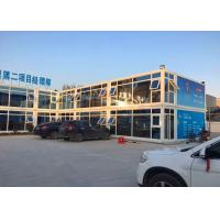 Buy cheap Two - Layer Glass Curtain Commercial Modular Buildings With Multiplayer Conference Office from wholesalers