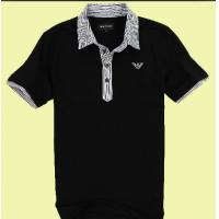 Buy cheap Breathable Cotton POLO T Shirts For Men American Style / Embroidering Logo Available from wholesalers