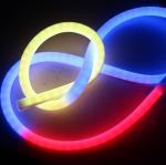 Buy cheap Wholesaler 24v led neon light rgb 5050 IP68 neon led flex strip light 360 pixel neon tube from wholesalers