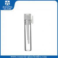 Buy cheap 1ml 2ml 3ml Perfume Tester Tuber Glass Vials Samples With  Ziplock Bags And Funnel from wholesalers