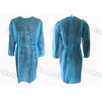 Buy cheap Medical Hospital Isolation Gowns , Patient Surgical Disposable Waterproof Gowns from wholesalers