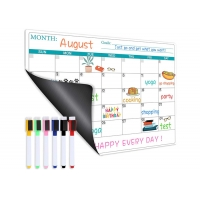 Buy cheap Stain Resistant Surface Fridge Magnet Dry Erase Calendar For Refrigerator from wholesalers