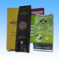 Buy cheap Aluminum Foil Side Gusset Quad Seal Packaging , Coffee / Tea Pacakging Bag from wholesalers