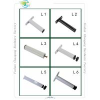 Buy cheap Adjustable Metal Bed Frame Support Legs , Bed Frame Feet Customized Height from wholesalers
