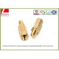 Buy cheap High Precision Cnc Turning Male Female Thread Bolts , Brass Machined Parts For Fastener from wholesalers