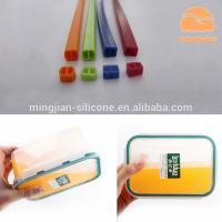 Buy cheap Lunch Box Custom Silicone Gaskets , Molded Silicone Rubber Seals Water product