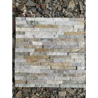 Buy cheap 100% Natural Slate Culture Stone Wall Cladding Panel For Inside And Outside Wall Decoration product