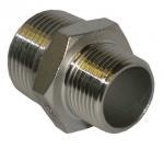 Reducing Pipe Nipple Stainless Steel Pipe Fitting BSPT  NPT JIS Thread