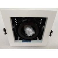 Buy cheap White Trim IP20 Max 50W GU5.3 Base Dia 118*118mm MR16 Gimbal Light Fittings from wholesalers