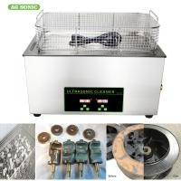 Buy cheap Medical Laboratory Digital Ultrasonic Cleaner 0-30 Minutes Timer 20-80C Temp Adjustable from wholesalers