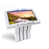Buy cheap Interactive Lcd Touch Screen Kiosk , Android Wifi Library Kiosk Machine product