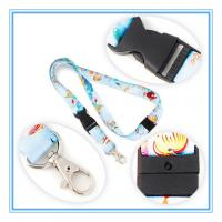 Buy cheap satin woven lanyard / custom breakaway lanyards from wholesalers