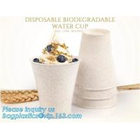 Buy cheap Custom Disposable Clear Cold Drink Juice Cup 100% Ecofriendly Biodegradable Compostable PLA Plastic Coffee Drinking Cup from wholesalers