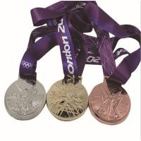 Buy cheap Metal Olympic participation medals, metal Olympic award medals, alloy blank sports medal, from wholesalers