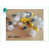 Buy cheap IGF - LR3 Anti Aging Peptide Injections , Peptides For Weight Loss ISO9001 Certificate from wholesalers
