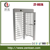 Buy cheap shenzhen zento full height turnstile/revolving turnstile from wholesalers