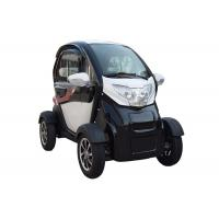 Buy cheap Long Range 1200 W  Mini Electric Car White Color With 2 Seats from wholesalers